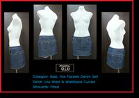 Basic Denim Skirt : กระโปรงยีนส์