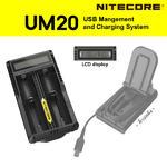 เครื่องชาร์จ Nitecore UM20 (ระบบชาร์จ USB)