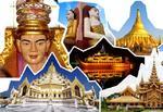 พม่า ย่างกุ้ง � หงสา � อินทร์แขวน  4 วัน