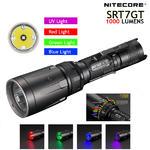 ไฟฉาย Nitecore SRT7GT 1000LM ระบบวงแหวนปรับแสง+RGB/UV LED