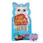 ขนมแมวเลีย INE BENTO รสทูน่าโบนิโต้ (Tuna Bonito) เพื่อเสริมสร้างระบบภูมิคุ้มกัน บำรุงสายตา 15g 4ซอง/ถุง