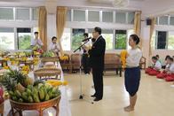 21 มิถุนายน 2561 พิธีไหว้ครูดนตรี-นาฏศิลป์ ปีการศึกษา 2561