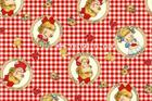 ผ้าคอตตอนญี่ปุ่น Dear Little World LW1909-12  หน่วยละ 45x55 ซม