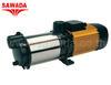 ปั๊มน้ำสแตนเลส รุ่น Aspri 35 4M N ขนาดมอเตอร์ 1.5 แรงม้า 1100 วัตต์ (ไฟ 2,3 สาย)