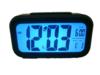 นาฬิกาปลุก ดิจิตอล ระบบปรับหน้าจอสว่างอัตโนมัติ - สีดำ +ถ่านAAA 3 ก้อน