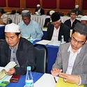 กอท.จัดการสัมมนาเชิงปฏิบัติการ ผู้แทนคณะกรรมการอิสลามประจำจังหวัด 15 จังหวัด ในเขตภาคกลาง