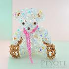 พีโยเต้ ลูกปัดหมีคริสตัล พรีเมี่ยม