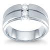 แหวนปอกเพชร 2 เม็ด ทอง 90% เพชร -- 0.20 กะรัต (2 เม็ด)
