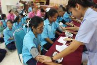 20 มิถุนายน ตรวจสุขภาพประจำปีการศึกษา 2561