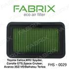 กรองอากาศแฟบริคซ์FABRIX AIR FILTER มี่ทั้งรถยุโรปและญี่ปุ่น(For Japan & Europe)