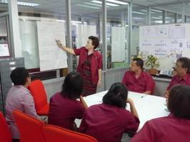 การประชุมเพื่อจัดทำร่างแผนพัฒนาการศึกษาของฝ่ายแผนงานและความร่วมมือ