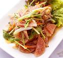 NO. SS40 ยำแหนมสด (Spicy salad with Sour pork)