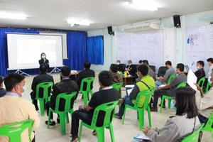 ประชุมให้ความรู้แก่ผู้สมัครรับเลือกตั้งสมาชิกสภาเทศบาลตำบลปิงโค้งและนายกเทศมนตรีตำบลปิงโค้ง