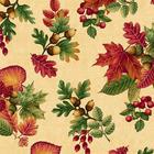 ผ้าอเมริกานำเข้าลาย Autumn Festival ขนาด 1/2 หลา