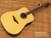 REVIEW กีต้าร์โปร่ง TITUS รุ่น Touch My Soul T121 (Top Solid)  โดย คุณเขี้ยว อคูสติกไทย