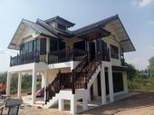 ผลงานสร้างบ้านอยู่อาศัย ลูกค้า ต.เคียนซา อ.เคียนซา จ.สุราษฎร์ธานี