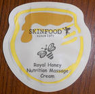 **พร้อมส่ง**Tester Skinfood Royal Honey Nutrition Massage Cream แพ็ค 100 ซอง