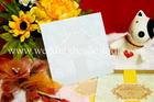 การ์ดแต่งงาน แบบพิเศษ สีฟ้า รหัส W 26