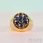 พีโยเต้ แหวนทองไพลินชาย