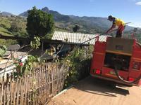 ลงพื้นที่ส่งน้ำเพื่อแก้ไขภัยแล้ง บ้านใหม่ลีซู หมู่ที่ 9
