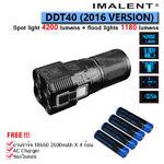 ไฟฉาย Imalent DDT40 2016 version 4200+1190 Lumens สี่ตาสุดล้ำ