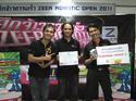 เก็บตกบรรยากาศการแข่งขันหุ่นยนต์ ZEER Robotic Open 2011