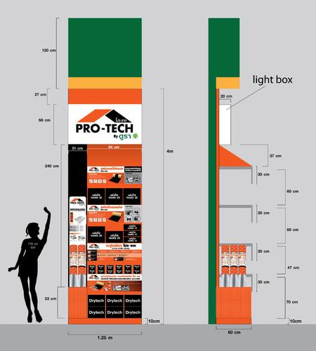 งานออกแบบ Pro-Tech Shelf