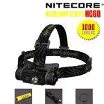 ไฟฉายคาดหัว Nitecore HC60 1000 Lumens ชาร์จในตัว