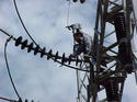 115 kV GIS Power Insulation Cleaning