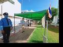 โรงพยาบาลนราธิวาสราชนครินทร์ จัดกิจกรรมเคารพธงชาติ สำนึกคุณ �ชาติ ศาสน์ กษัตริย์� วันที่ 18 พ.ค.63