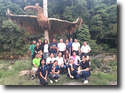 ทีมงานโครงการผ่าตัดปากแหว่งเพดานโหว่ชมป่าฮาลาบาลา