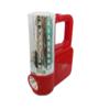 Kamisafe ไฟฉุกเฉิน และ หลอดLED ส่องทาง พร้อมแบตเตอรี่ภายใน Rechargeable LED emergency รุ่น KM-7618C -สีแดง