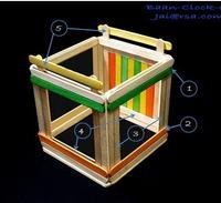 DIY บ้าน-นาฬิกา-โคมไฟ (2)