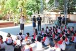 เทศบาลเมืองลัดหลวง เดินหน้ากองถุงพลาสติกเปรอะ                                           สู่โรงเรียนในเขตพื้นที่ จับมือ(โรงเรียนพลอยจาตุรจินดา)เป็นโรงเรียนนำร่อง