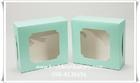 *แบ่งขาย2ใบ*กล่อง2ปอนด์สีมิ้นลายจุดขาว กระดาษฟู้ดส์เกรด สัมผัสอาหารได้ไม่เป็นอันตราย