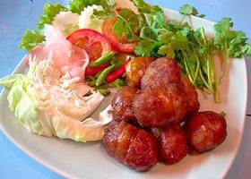 NO. DF02 ไส้กรอกอีสาน (Isaan sausage) งดจำหน่าย
