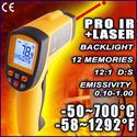 ปืนวัดอุณหภูมิอินฟาเรด Model GM-700