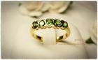 GR0009 แหวนทองกรีนการ์เน็ต