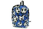DF-596-สีน้ำเงิน-ราคาส่ง150ปลีก250บาท-กระเป๋าเป้ผ้าไซร์Mสายสะพายซับฟองน้ำนุ่มแต่งลายหมีแพนด้า