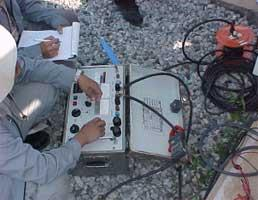 115 kV GIS Current Transformer Turn Ratio Test