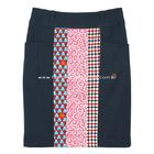 กระโปรงแฟชั่นทรงสอบ กระโปรงทำงาน Pockets Line Incision Skirt ผ้า ROSE SKINNY สีน้ำเงิน ผ้าเนื้อดี สีสวยค่ะ