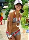 [พร้อมส่ง] STR-0917 ชุดว่ายน้ำแฟชั่น บิกินี่เกาหลีแบบสปอร์ต ผ้าโพลีเอสเตอร์ ดีไซด์เก๋ ดูลุคสาวทันสมัยปราดเปรียว