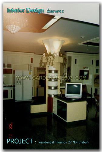 Interior design บ้านพักอาศัยติวานนท์27 นนทบุรี4