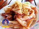 ปลาหมึกทอดกระเทียมพริกไทย สูตรสินธุสมุทร