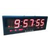 LED Clock Board : นาฬิกา LED ขนาดใหญ่(Board)  ตัวเลขสูง 4 นิ้ว ยาว 27 นิ้ว สำหรับโรงงาน โรงแรม