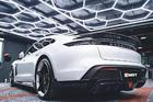 ดิฟฟิวเซอร์ Carbon Fiber Porsche Taycan ทรง CMST