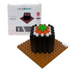 3D Microbrik - Salmon Maki Sushi ตัวต่อหน้าซูซิ 3D ข้าวห่อสาหร่ายหน้าปลาแชลมอน