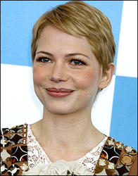 Michelle Williams's Pixie Hair Cut