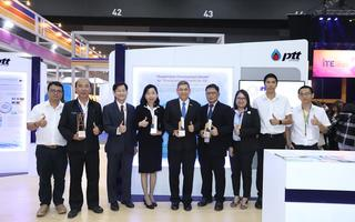 ปตท. รับโล่ในงาน Innovation Thailand Expo 2018