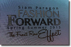 Siam Paragon Fashion Forward S/S 2013